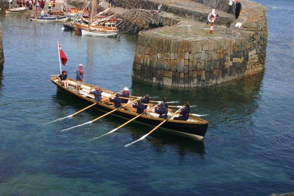 Rowing at Portsoy 2010